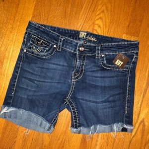 NWT NEW KUT FROM THE KLOTH CUFFED SHORTS 8